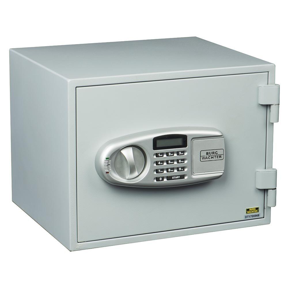 Coffre-fort FP43 E ignifugé électronique + 2 clés secours BURG WAECHTER - intérieur 225x320x220 - 39600