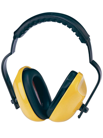 Casque anti-bruit Jaune SINGER - SNR 25DB - HG106J