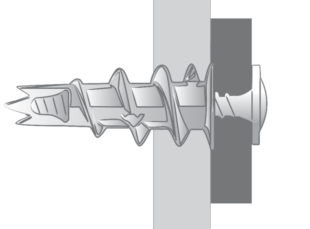 Boîte de 100 pièces Chevilles zamack Krono SCELL-IT - Ø 4,5 x 30 mm - tête ronde large - KRONO-SR
