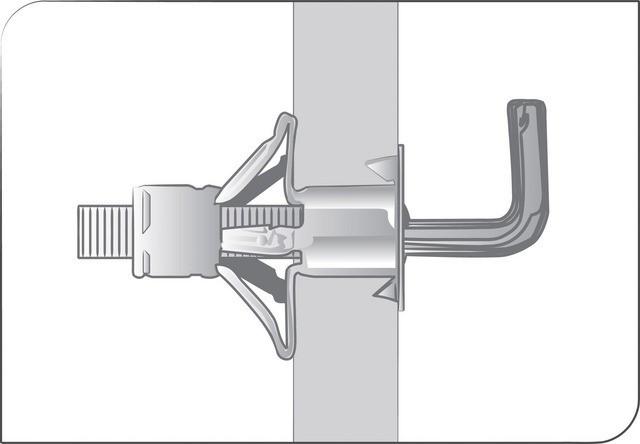 Boîte de 100 Gonds à embase GAE SCELL-IT - 4 x 38 mm - GAE0438