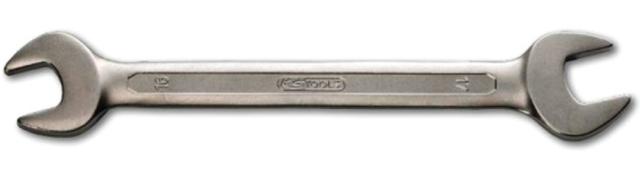 Clé à fourche KS TOOLS chrome mat - 17x19 mm - KS517.0111
