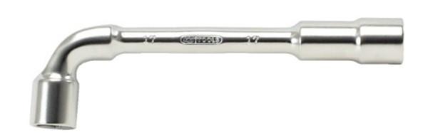 Clé à pipe débouchée 6x6 KS TOOLS - 21 mm - 517.0421