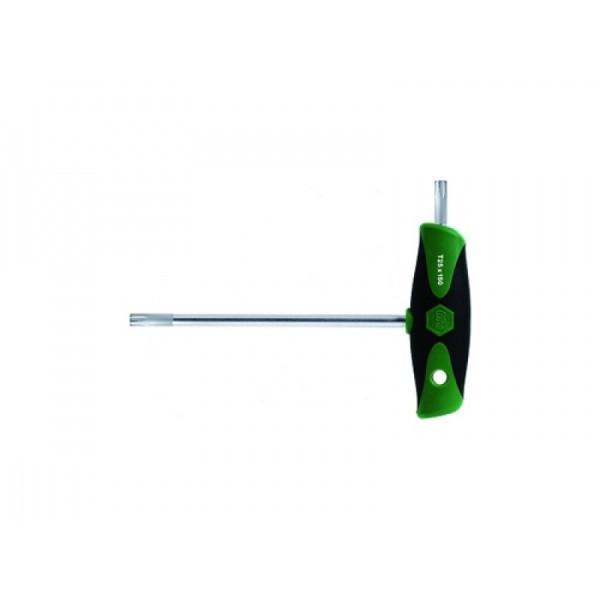 Clé mâle Torx T20 ComfortGrip 364DS WIHA avec lame latérale - 26174