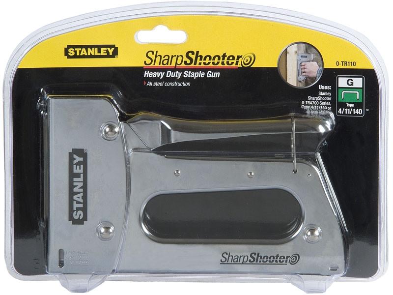 Agrafeuse manuelle TR110 STANLEY agrafes G de 6 à 14 mm - 6-TR110