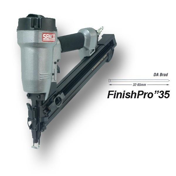 Cloueur pneumatique FinishPro 35 SENCO - Pour pointes DA 32 à 63.5mm - 6G2001N
