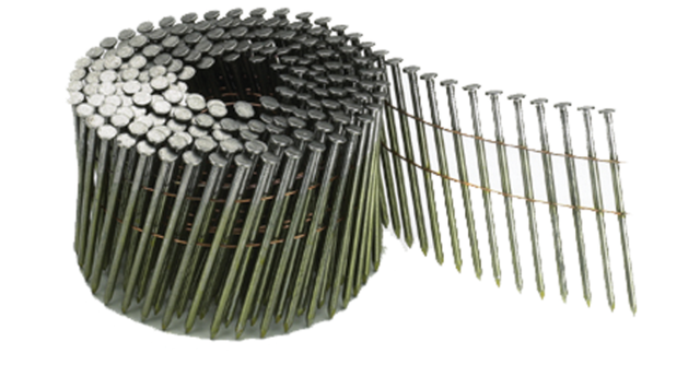 Clous annelés en rouleau plat 16°P8 AERFAST - 2.5x70 mm - Boite 7200 - NN50007