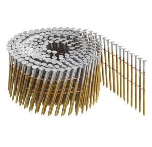 Boîte 3600 Clous en rouleau plat 16° annelés EZ AERFAST - 3.1x90 - 303188