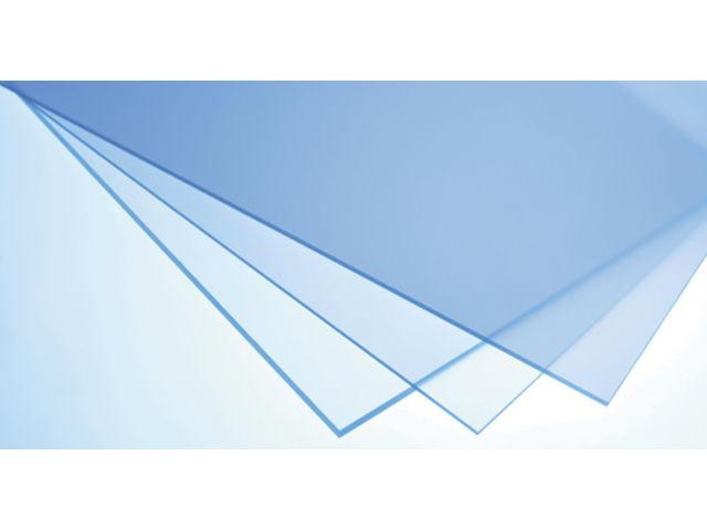 Plaque PMMA extrudé SUNCLEAR incolore - 1000 x 2050 x 2 mm -