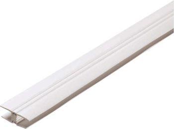 Profil de jonction PVC pour polycarbonate épaisseur 16 - longueur 6 m