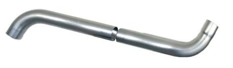 Coude écharpe extensible  - 60cm - Ø80 mm - AZN100080