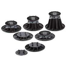 Plot PVC réglable à vis SOPREMA pour terrasse - 40 à 67 mm - 00033960