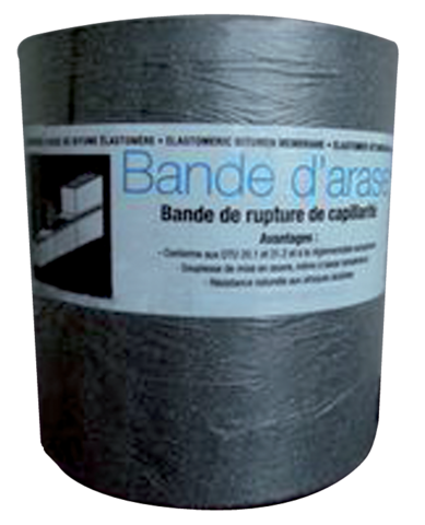 Bande d'arase SOPREMA - rouleau 10m x 0.20m - 11101