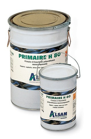 Primaire Alsan étanchéité liquide H80 SOPREMA - bidon 5 kg - 96406