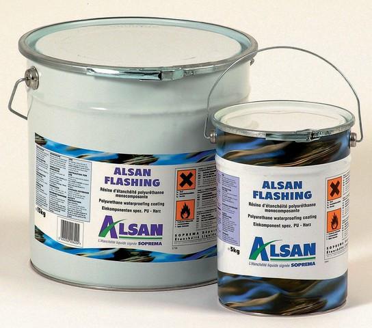Résine d'étanchéité Alsan Flashing SOPREMA  - bidon 15 kg - 00011590