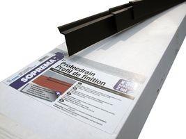 Profilé de finition pour Protectdrain SOPREMA - lg 2 m - 11415