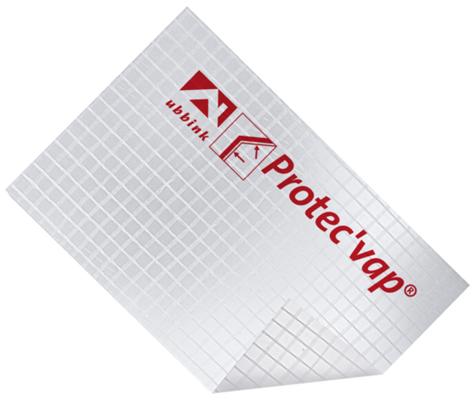 Écran pare-vapeur transparent Protect'Vap UBBINK - 1.5m x 50m - 204022