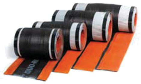 Closoir de faîtage Airtec Duo Roll UBBINK - ocre - 50 m x 360 mm en carton dérouleur  - 203779