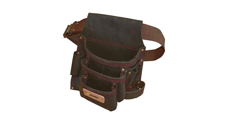 Poche à clous renforcée en cuir avec ceinture JOUANEL - POCOU-R-460092