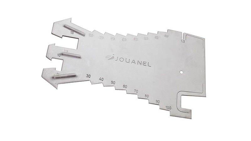 Tracette à zinc en acier inoxydable JOUANEL - TRAC