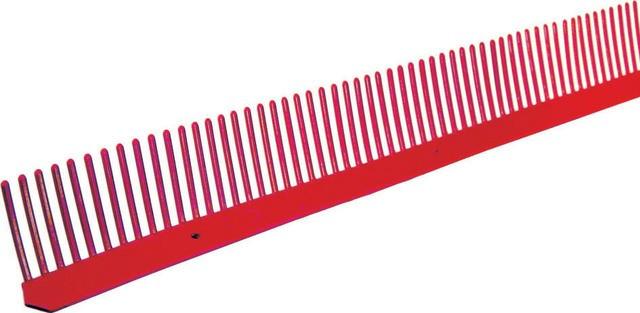 Closoir peigne 85 mm B.W.K Rouge brique 1ML polyéthylène - 61010080