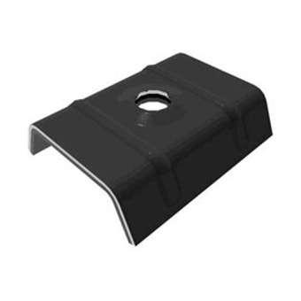 Cavalier Vulco epdm ETANCO pour profil couverture 3x333x45 - sac 100 pièces - ral 7022 gris graphite