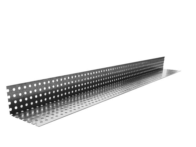 Profil de ventilation bas galvanisé UBBINK pour bardage - 32x50 mm - L.2m50 - 850504