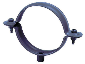 Collier descente embase taraudée Ø100 mm FRENEHARD avec patte à vis - QSFCF5110/CZPV
