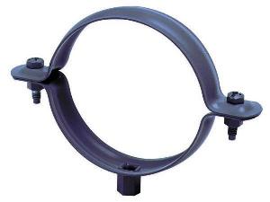 Collier embase taraudée 7/150 Ø80 mm FRENEHARD bi-laqué blanc/pierre - QSFCF5180/CPPV
