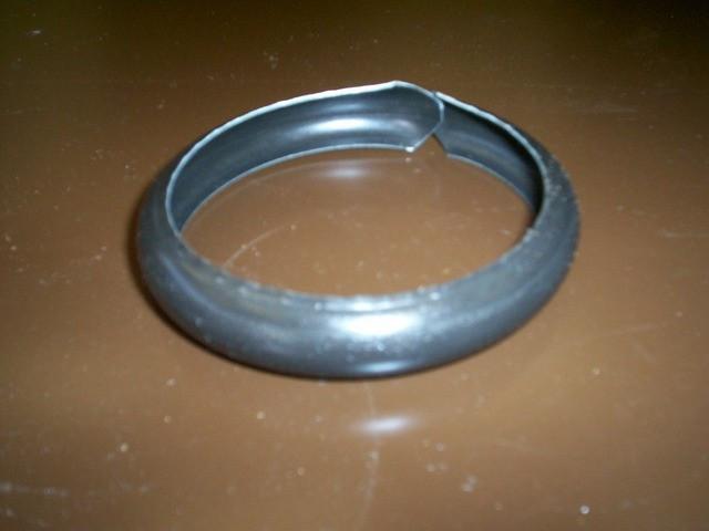 Bague spirale sans bord  - Ø 80mm - Zinc naturel - AZN20080