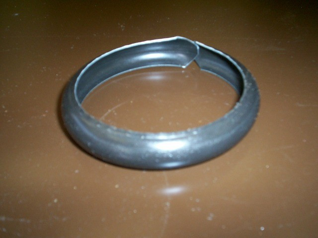 Bague spirale sans bord  - Ø 100mm - Zinc naturel - AZN200100