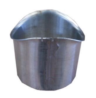 Moignon cylindrique Zinc Naturel Ø80 mm - AZN110080