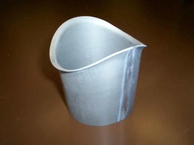 Moignon cylindrique Quartz Zinc Ø80 mm - AQU110080