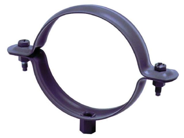 Collier de descente gouttière à pointe Ø80mm INNOVAX - pré galvanisé - 181PT80