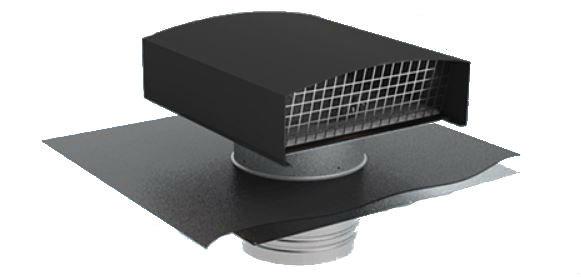 Chapeau de toiture métallique CTM125 - ardoise - 6055