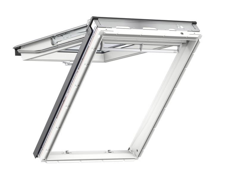 Fenêtre de toit VELUX à projection - Confort - Finition blanche - 114 x 118 cm - GPU SK06 0076