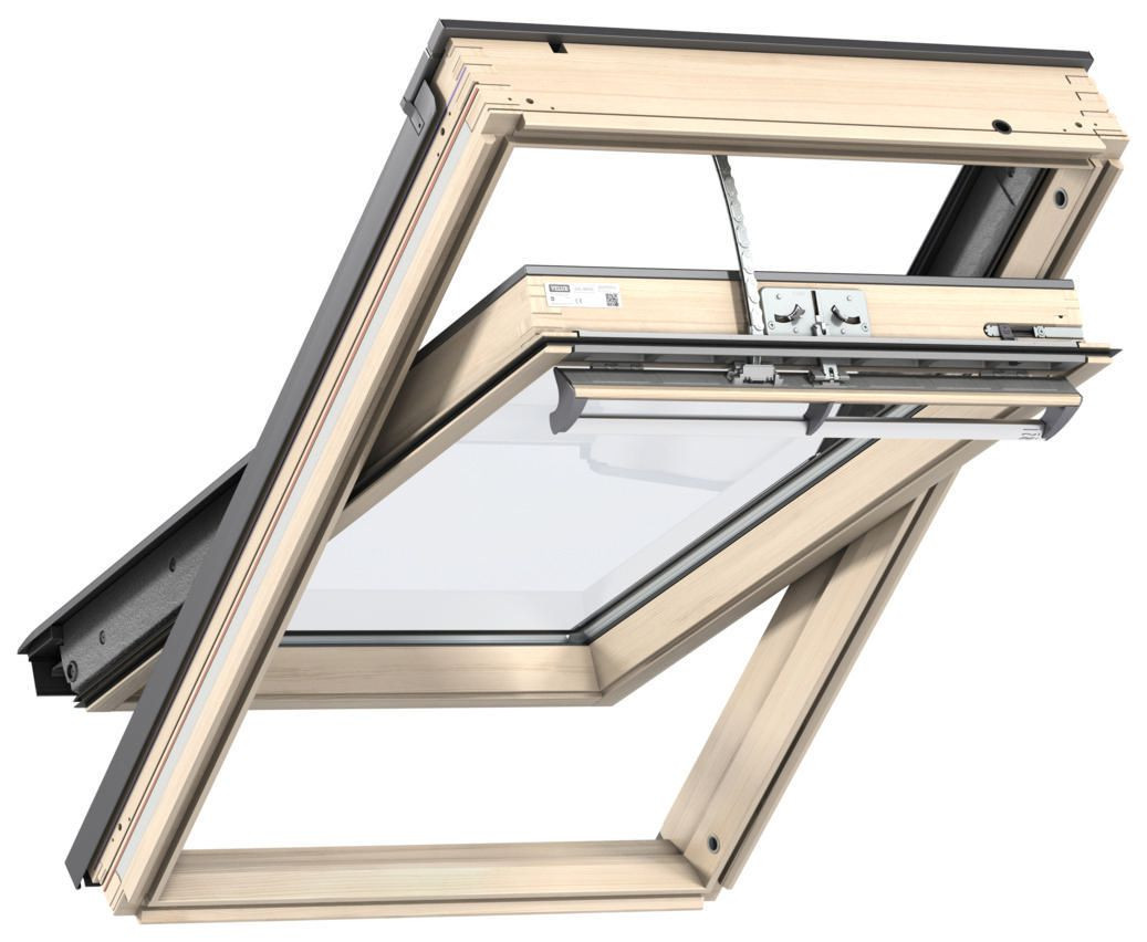Fenêtre de toit VELUX à rotation 78x98 cm - Tout confort Motorisation Integra - GGLMK04 305721