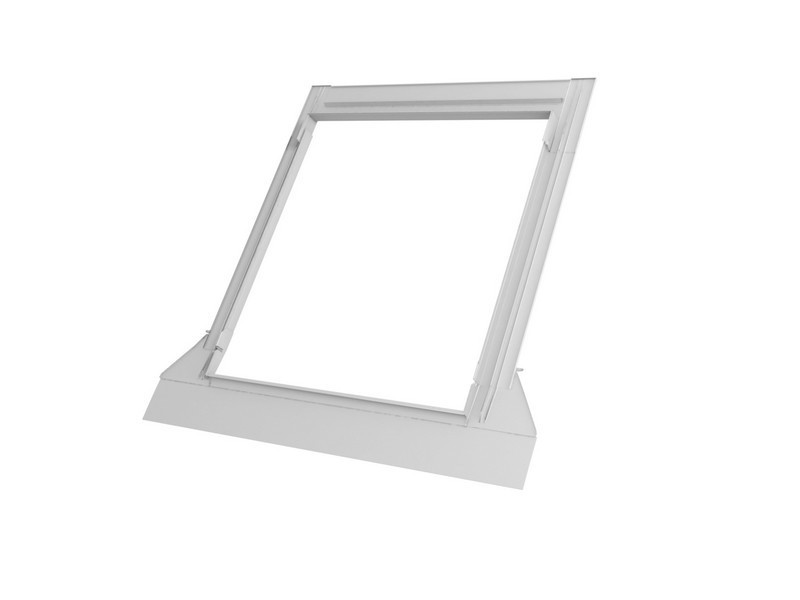 Raccord pour ardoises Gris VELUX 78x98 cm - encastré/ matériaux plats jusqu'à 8 mm - EDN MK04 0000