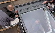 Raccord de remplacement VELUX 55x70 cm pour ardoise matériaux plats jusqu'à 8 mm - EL CK01 0000