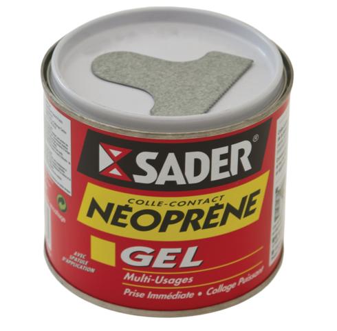 Colle contact Néoprène Gel SADER - 500 ml - 30021083