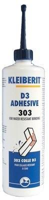 Colle vinylique D3/D4 KLEIBERIT 303.0 - flacon 0,5kg - 303.0.8101