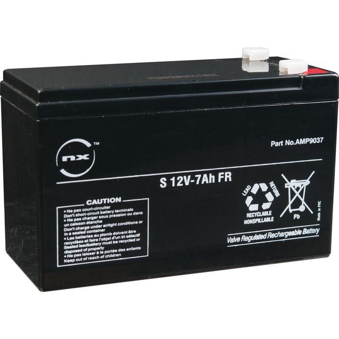 Batterie 12V 7Ah EB1105 EFF EFF en coffret pour alimentation - 718004