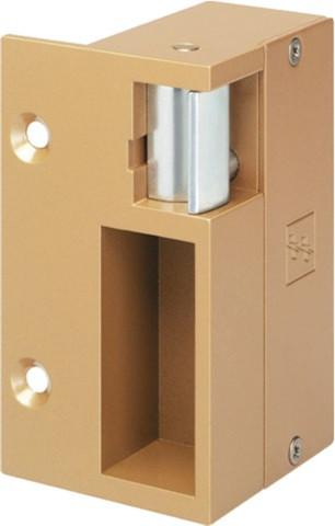 Gâche électrique 12V Gold droite EFF EFF à plaquer en 90B - 90B----09000D-17