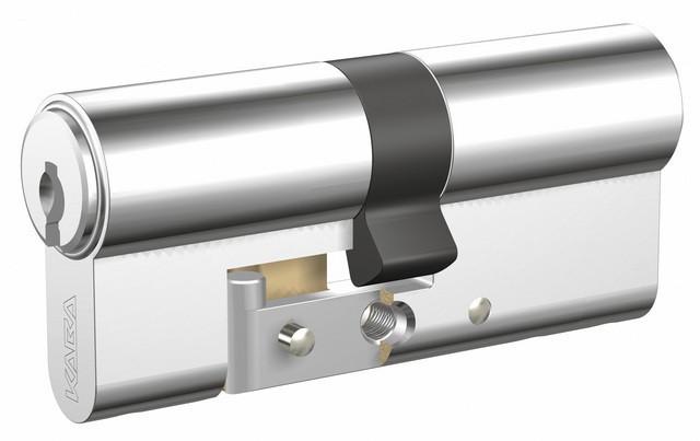 Cylindre Expert T renforcé 30x40mm - double - 3 clés panzer - 5.DZ30+40STST.NI.LR