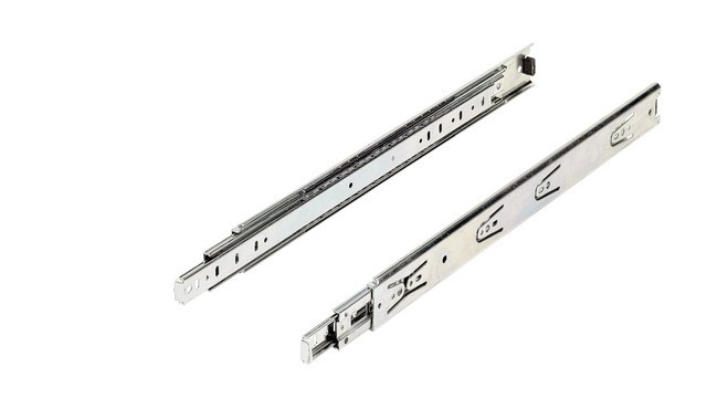 Paire de coulisses HETTICH KA5632 L.250mm - Largeur d'installation 12,7 mm - 45 kg - 73276