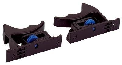 Cliquets pour tiroirs en bois avec base rainurée Quadro 25 et V6 HETTICH - Droite - 9144841