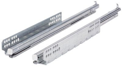 Paire de coulisses HETTICH Quadro V6 Silent system - 500 mm - 45293