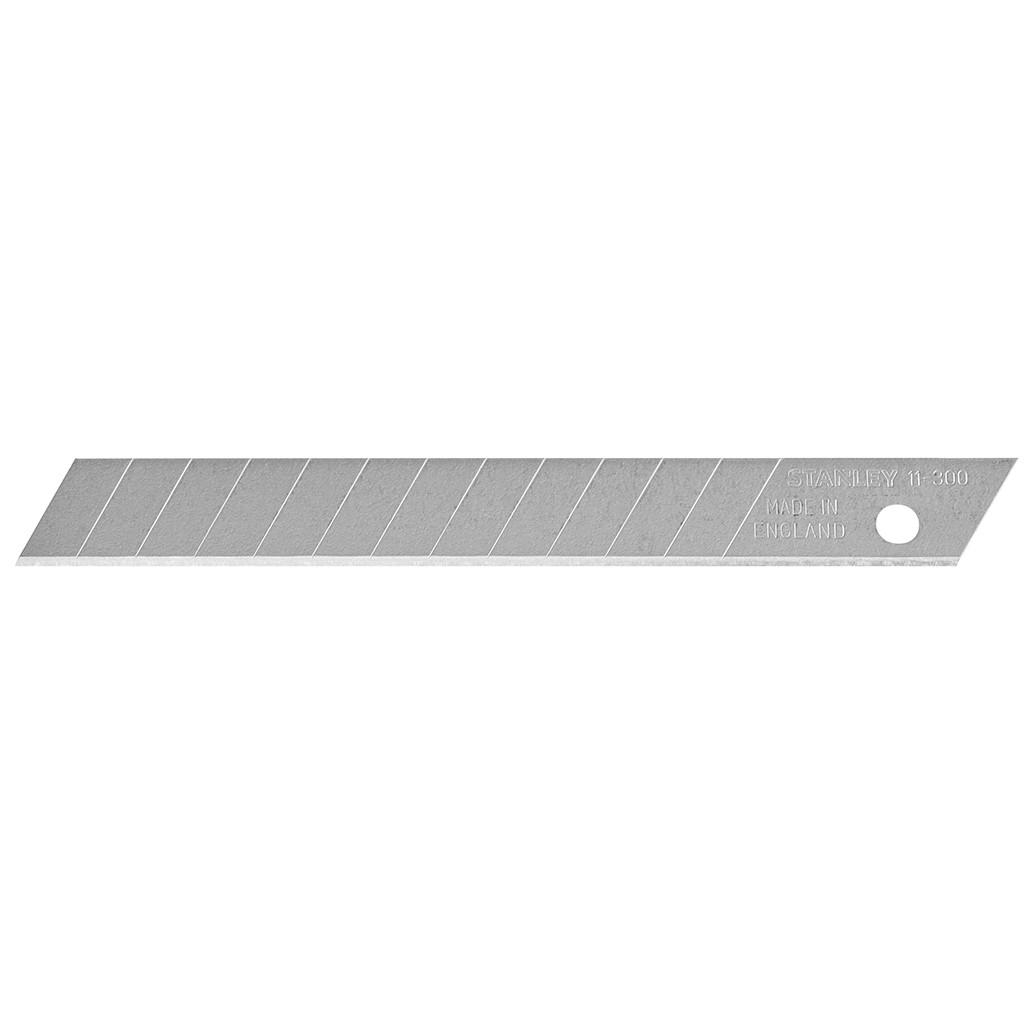 Carte 10 lames cutter STANLEY 9 mm - 0-11-300