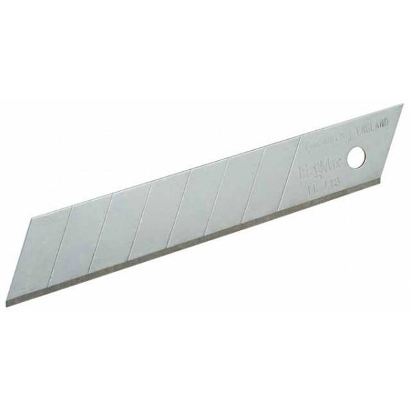 Carte 100 lames cutter Fatmax STANLEY 18 mm - 1-11-718