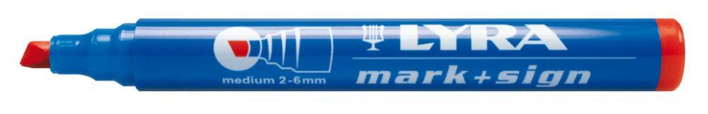 Marqueur indélébile 111 Rouge OMYACOLOR - 4010017