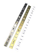 Crémaillère MONIN SAS - Acier nickelé - Larg.16 mm - Barre de 2 mL - 270700